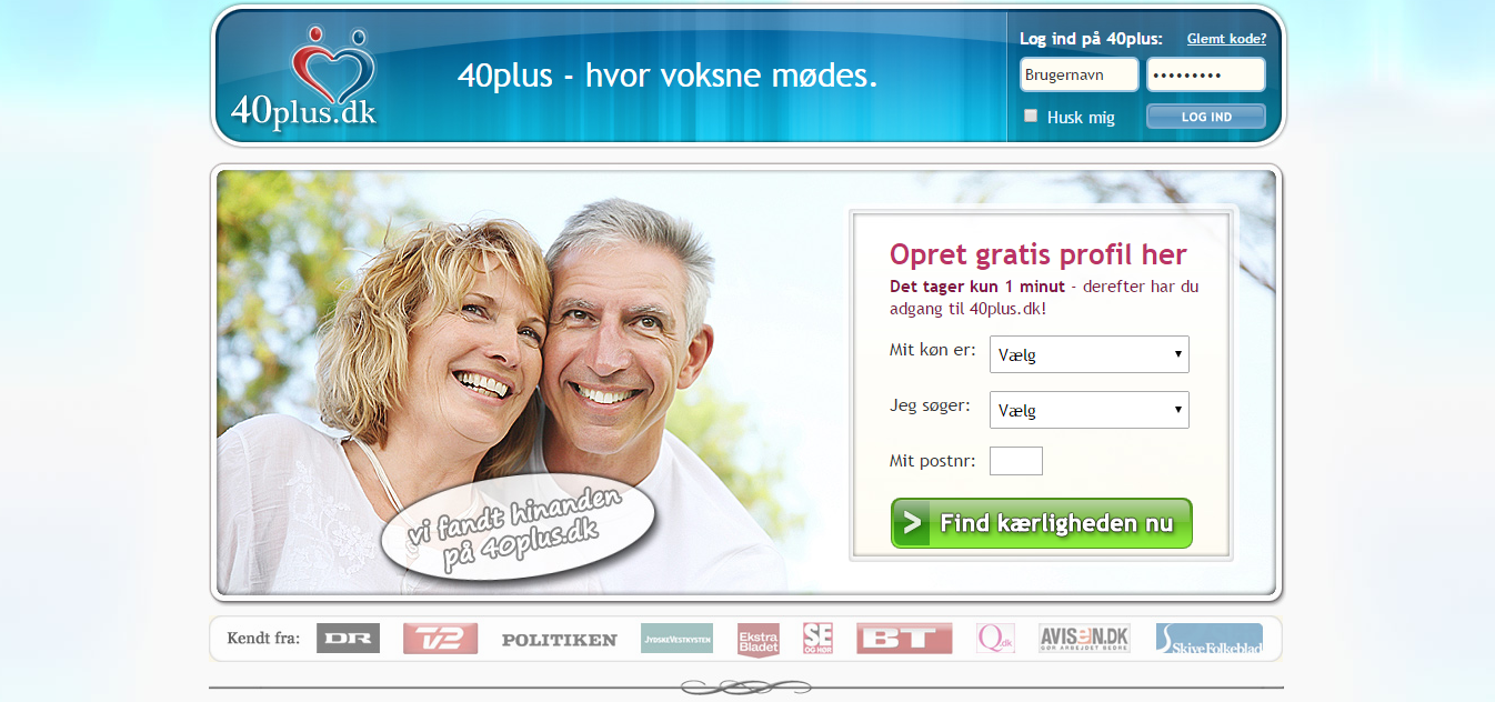 Gratis online dating over 50 år