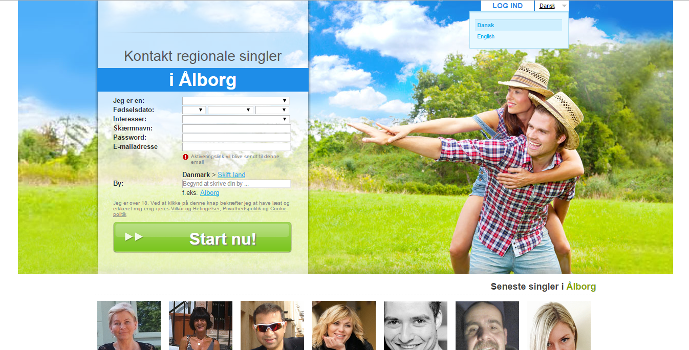 CountryDating.dk