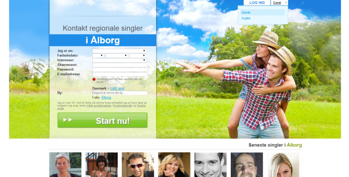 Dating for unge gratis