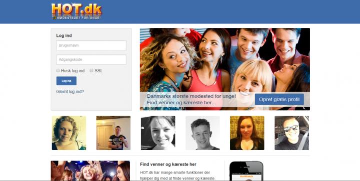 Hot.dk – Mødested for unge
