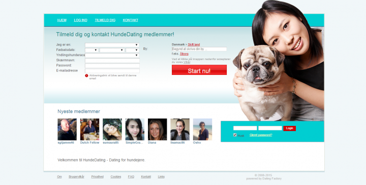 HundeDating.dk – Dating for hundejere.