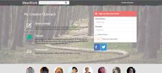 MeeWork.com – Socialt Netværk for kreative