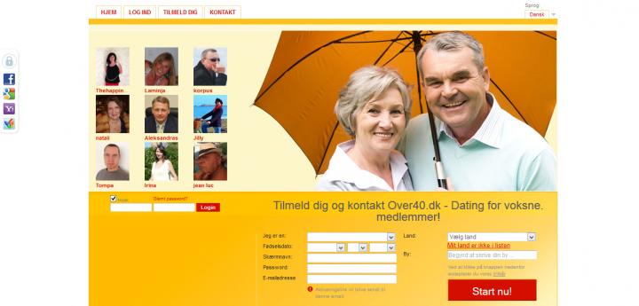 over40.dk – Voksne singler