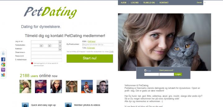 Pet-Dating.dk – Elsker du dyr
