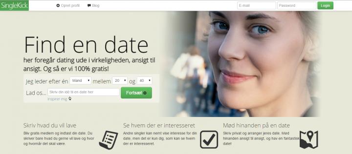 SingleKick.dk – Ud i virkeligheden